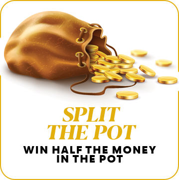 split the pot