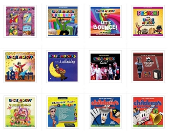 Set of Uncle Moishy Children's CDs