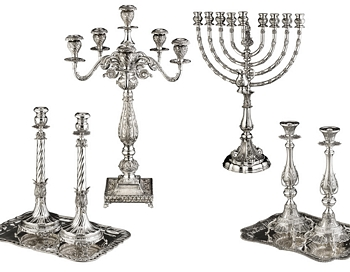 Choose One Magnificent Sterling Silver Judaica Piece