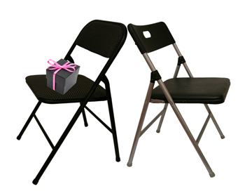 12 Quality Cushioned Folding Chairs